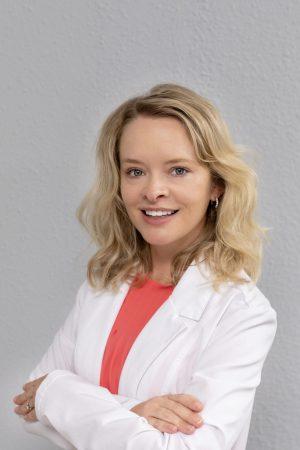 Jessica Miller, an APRN, and a Sikora Medical Team Member